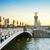 моста · Париж · закат · город · ночь · архитектура - Сток-фото © neirfy