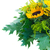 vers · boeket · zonnebloemen · houten · tafel · zon - stockfoto © neirfy