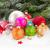 красный · Рождества · снега · изолированный · белый - Сток-фото © neirfy