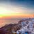 falu · éjszaka · Santorini · Görögország · ház · város - stock fotó © neirfy