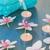 orchidea · gyertyák · neon · kék · természet · szépség - stock fotó © neirfy