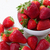 pile of strawberries in plate stock photo © neirfy
