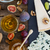 チーズ · 黒 · まな板 · はちみつ · ワイン - ストックフォト © neirfy