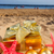christmas gifts on beach stock photo © neirfy