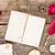 starożytnych · list · pióro · papieru · badania · uczelni - zdjęcia stock © neirfy
