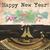 明けましておめでとうございます · 2016 · タイプライター · 書かれた · レトロな · パーティ - ストックフォト © neirfy