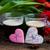 día · de · san · valentín · tarjeta · de · felicitación · corazón · cookies · flores - foto stock © neirfy