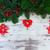 Рождества · гирлянда · зеленый · деревенский · ель - Сток-фото © neirfy