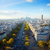 skyline of paris from place de l toile france stock photo © neirfy