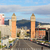 venedik · towers · Barcelona · kare · Bina · kentsel - stok fotoğraf © neirfy