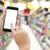 hand · moderne · smartphone · supermarkt · handen - stockfoto © neirfy