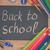 bem-vindo · de · volta · à · escola · conselho · sala · de · aula · atrás - foto stock © neirfy