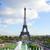eiffel tour and fountains of trocadero stock photo © neirfy