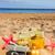 Рождества · подарки · пляж · песок - Сток-фото © neirfy