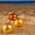 christmas balls on beach stock photo © neirfy