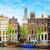 старые · домах · Амстердам · Нидерланды · канал · ретро - Сток-фото © neirfy