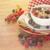 zab · pelyhek · friss · bogyók · fehér · tányér - stock fotó © neirfy