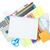 notebook · schoolbenodigdheden · geïsoleerd · witte · kantoor · boeken - stockfoto © neirfy