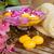 różowy · chryzantema · kwiaty · świece · puchar · wody - zdjęcia stock © neirfy