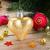 golden heart on fir tree stock photo © neirfy