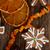 クリスマス · 針 · オレンジ · スライス · 食品 · 中心 - ストックフォト © neirfy