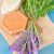lavender flowers and soap bars stock photo © neirfy