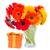 красочный · цветы · шкатулке · деревянный · стол · копия · пространства · древесины - Сток-фото © neirfy