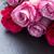 mesa · rosa · rosas · caja · de · regalo · papel · primavera - foto stock © neirfy
