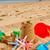 homokvár · tengerparti · homok · kastély · tengerpart · gyerekek · építkezés - stock fotó © neirfy
