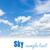 miękkie · chmury · Świt · krajobraz · pomarańczowy · Błękitne · niebo - zdjęcia stock © neirfy