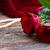 red roses on velvet stock photo © neirfy