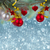 christmas decorations border on snow background stock photo © neirfy