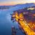 heuvel · oude · binnenstad · Portugal · villa · rivier · retro - stockfoto © neirfy
