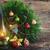 vintage · latarnia · christmas · wieniec · dekoracje - zdjęcia stock © neirfy