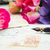 toll · antik · levelek · rózsaszín · levél · kék - stock fotó © neirfy