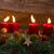 alegre · natal · ardente · velas · isolado - foto stock © neirfy