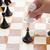 hand moving chess knight stock photo © neirfy