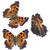 kicsi · pillangó · színes · narancs · állat - stock fotó © neirfy
