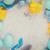 イースター · 活気のある · 描いた · 卵 · グリッター · 紫色 - ストックフォト © neirfy