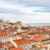 catedral · Lisboa · Portugal · iglesia · amarillo · tranvía - foto stock © neirfy