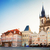 old town square with city hall of prague stock photo © neirfy