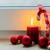 ardente · branco · natal · velas · verde · caixa · de · presente - foto stock © neirfy