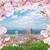 Floransa · İtalya · dikey · görüntü · kırmızı - stok fotoğraf © neirfy