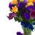 virágok · virágcsokor · fa · asztal · üres · jegyzet · virág - stock fotó © neirfy