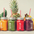vidrio · botellas · crudo · orgánico · frescos · jugo · de · naranja - foto stock © neirfy