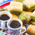 турецкий · десерта · типичный · фон · белый - Сток-фото © neirfy
