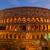 romok · Colosseum · Róma · sétál · látogatók · turisták - stock fotó © neirfy