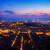 noto · skyline · Hill · retro · cielo · città - foto d'archivio © neirfy