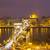 colina · vista · puente · parásito · danubio · río - foto stock © neirfy