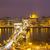 notte · view · noto · catena · ponte · Budapest - foto d'archivio © neirfy